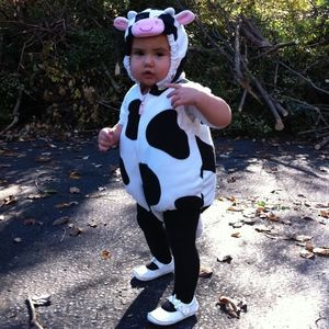 Carter's 12 month Cow Costume